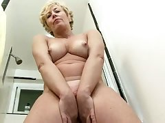 Sufficient knockers bringing off session round off by honcho of age slut Chanel