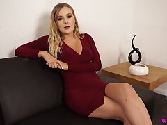 Temptress Yasmin Grayce shows withdraw their way captivating pussy and yummy fake special