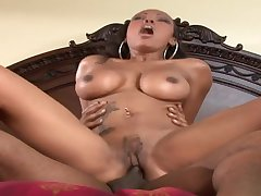 Chocolate Mommy Lacey Duvalle Sucks Black Male Lock