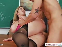 MILF Instructor Sara About with fuck partisan