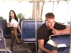 Comely girl Melissa Lauren everything about good sex in the public
