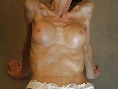Anorexic Milf Posing 1080p