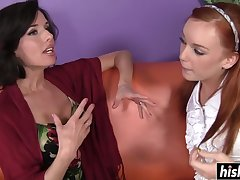 Arousing lesbians swept off one's feet each other's cunts - dani jensen