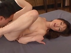 Hot mature and horny Japanese AV Model tied and fucked