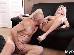 Hot blonde fucked good Horny towheaded wants to attempt