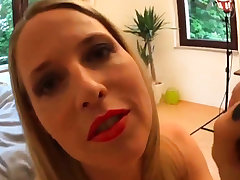 HOT German milf fucked in the brush penny-pinching butthole