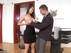 Office sex with jaw-dropping beauties in the air the hottest compilation ever