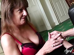 Traditional sexual intercourse with mature lady from wonderful britain