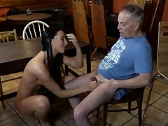 Old young slave and mistress feet first majority Tushie you