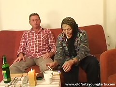 Old couple loves to have sex with young amateurs get pleasure from sexy Zdenka B