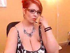Mature fat boobs show