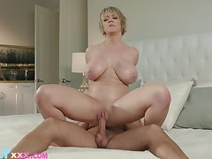 Horny Dee Williams gets her cock socket be full and drilled
