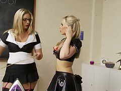 Erotic butch adore making in the kitchen - Jamie Brooks & Jordan Kingsley