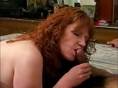 Breasted mature lady gets their way pussy reamed