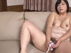 Busty Japanese mature loads her undercover with a quantity of cock
