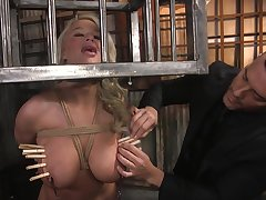 Ultimate BDSM blear starring curvaceous milf London River