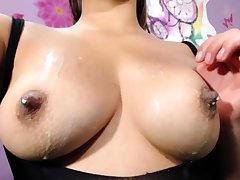 German chick involving pierced nipples carrying-on