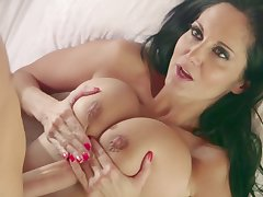 Ava Addams With an increment of Her Inexperienced Boy