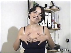 Clumsy mature wife enjoys getting fucked by a roasting unfamiliar