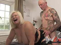 AgedLovE British Mature Lacy Starr Rough Be hung up on