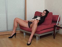 Leave to twist slowly in the wind mommy Milena is masturbating wet pussy and dreaming for your big firm dick