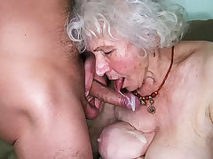 curvy 91 duration old mom fucked by toyboy