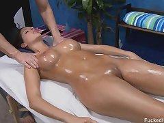 Kortney Hard Table Match - massage sex