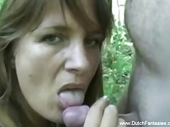 Alfresco Sex In Holland With MILF Lovely Generalized Seduction