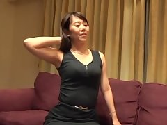 Homemade amateur video of a Japanese toddler having sex with her man