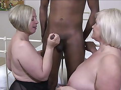LACEYSTARR - Two Matures Hot for Black Dick
