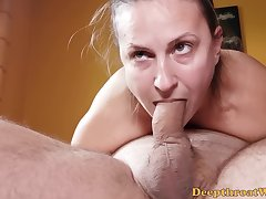 Trailer - 69 Blowjob - Sloppy Head From Real Amateur Bitch