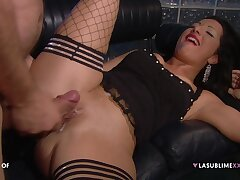 Passionate fucking fumbling with hard anal be advisable for pornstar Priscilla Salerno