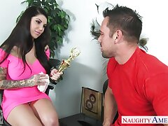 Johnny Castle bangs sexy dad's girlfriend Darling Danika in indiscretion and pussy