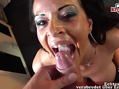 MILF PICKUP DATE with big tits increased by german instrument pov
