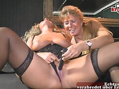 German homemade swinger orgy with lesbians