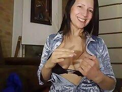Colombian horny MILF webcam crazy porn scene