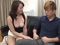 Japanese chick Kurino Youko takes a stiff cock forth her tight cunt