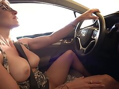 Secret Vacation Apropos My Step Mom - Bare-ass Car Ride And Hotel Blowjob - Cory Chase
