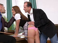 DP action shows redhead in all her gravitas