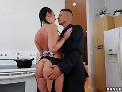 Hardcore pussy and ass drilling with stunning Brittany Shae