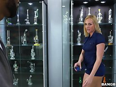 Rough anal adventures for lively mart babe Kate England